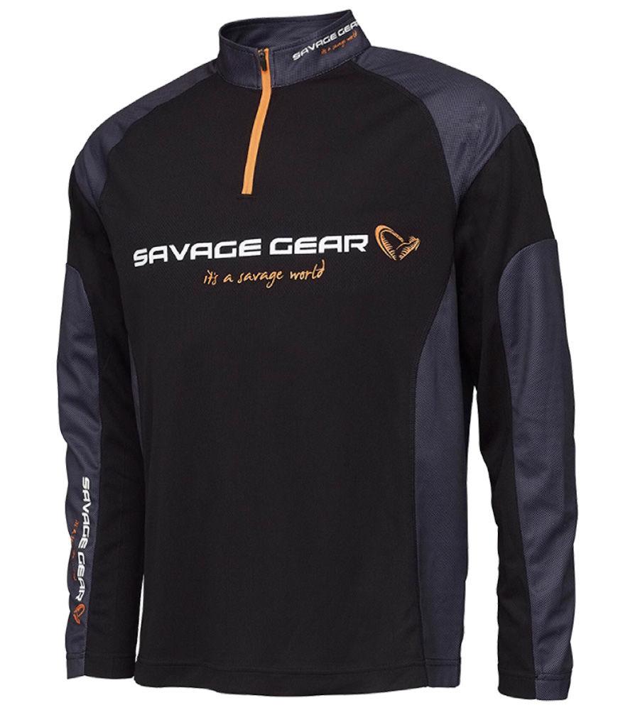 Immagine di Savage Gear Tournament Gear Shirt 1/2 Zip